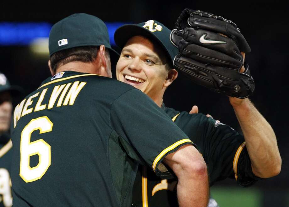 MVP (pitching division):  Sonny Gray was AL pitcher of the month for April and nearly as good in May. Photo: Richard W. Rodriguez, McClatchy-Tribune News Service