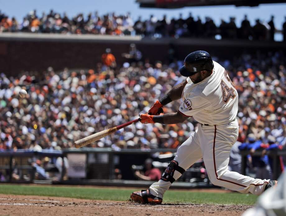 Must-see (offense):  Pablo Sandoval on a pitch at the ankles Photo: Marcio Jose Sanchez, Associated Press