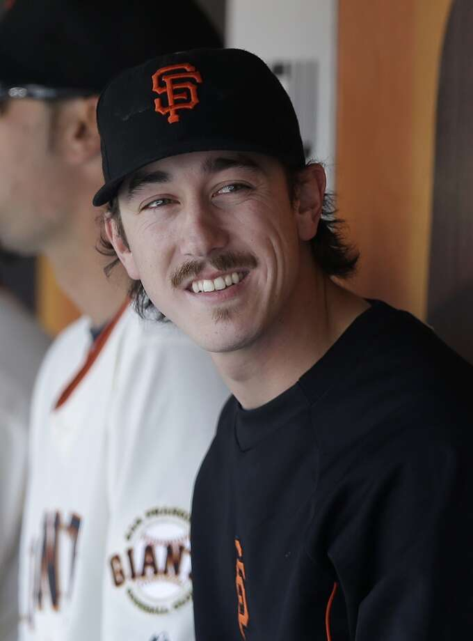 Most irrelevant story that drives the most internet traffic:  Tim Lincecum's mustache (Careless Whisker) Photo: Associated Press
