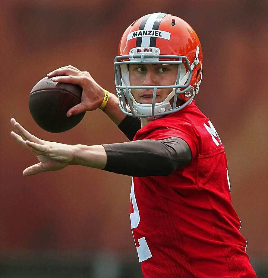 Cleveland quarterback Johnny Manziel's Las Vegas weekend, well documented on social media, raised eyebrows among those who question his commitment to playing in the NFL. Photo: Ed Suba Jr., McClatchy-Tribune News Service