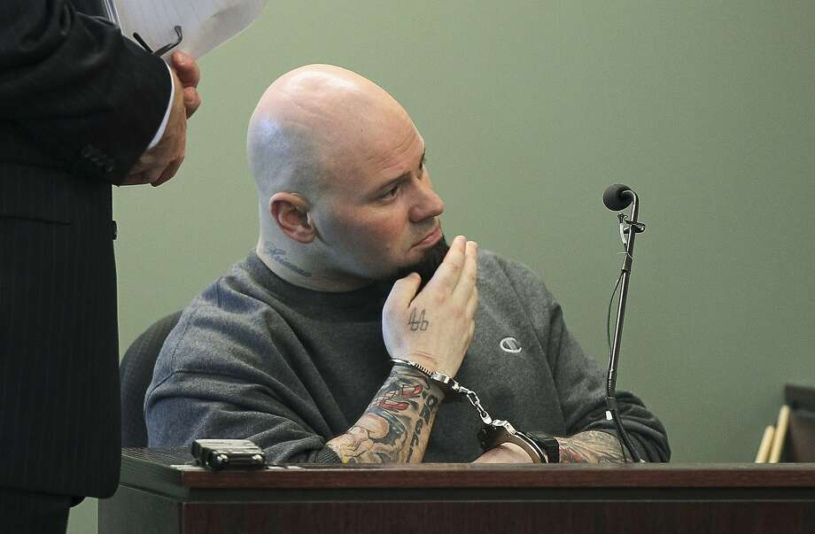 Jared Remy, son of Red Sox broadcaster Jerry Remy, was sentenced to life without parole after pleading guilty to stabbing his girlfriend to death. Photo: Joanne Rathe, Associated Press