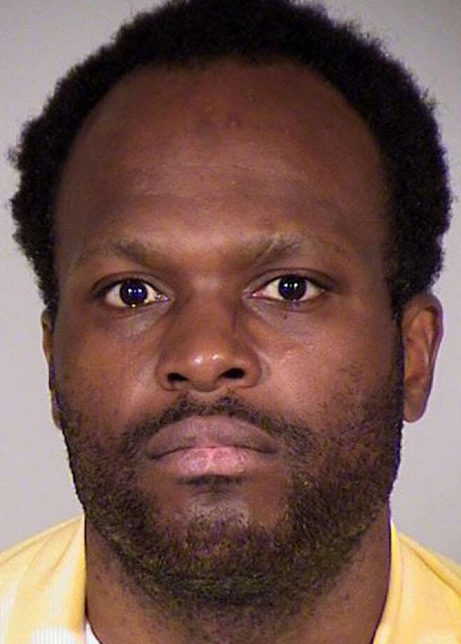 Anthony Hawkins, pictured in a King County Sheriff's Office photo. Hawkins, 37, is a registered sex offender now accused of raping a woman outside her Pioneer Square apartment.