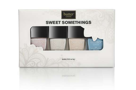 "butter London's ""Sweet Somethings"" collection can be layered or dolled out to bridesmaids to create a consistent look. $35 (fashion size set), Nordstrom or www.butterlondon.com"