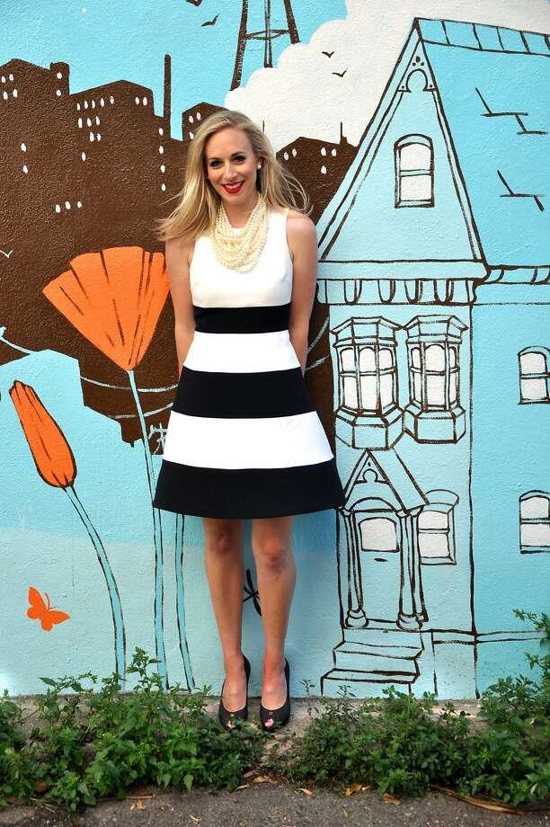 Caroline Curran launches her blog, Perfect10SF. Photo: Jesse Pedersen