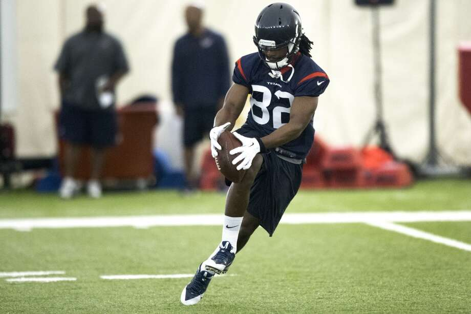 Texans wide receiver Keshawn Martin makes a catch. Photo: Brett Coomer, Houston Chronicle