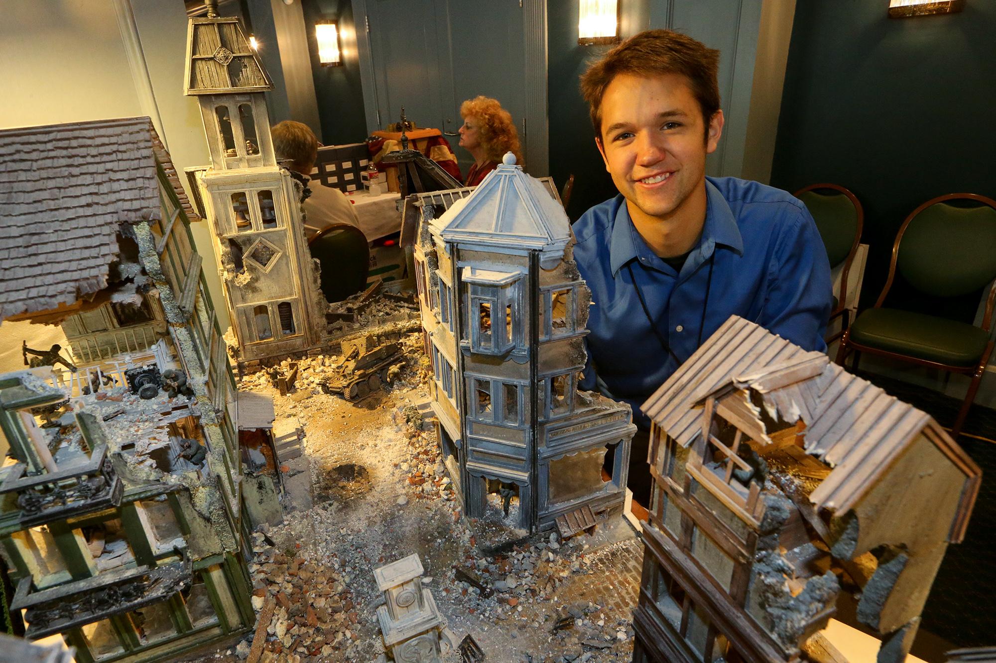 Tiny Toy Soldiers Can Make Big Impression San Antonio