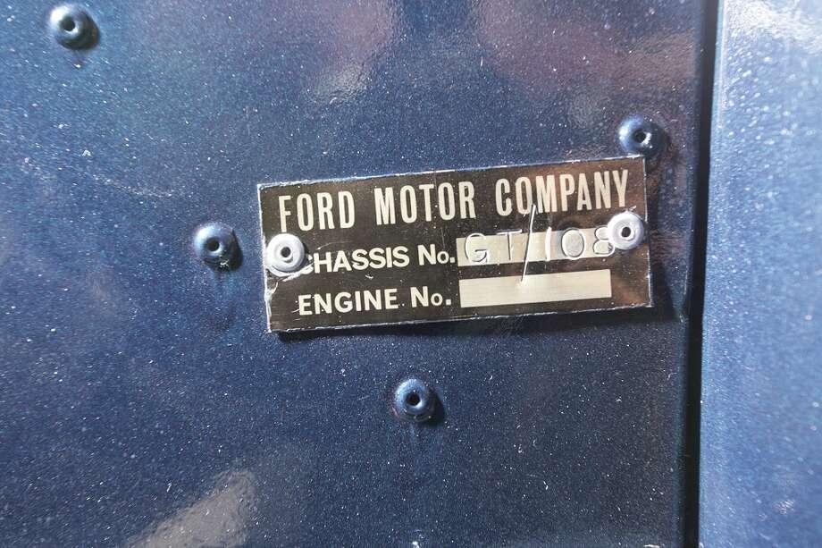 Ford GT40 prototype Photo: Pawel Litwinski ©2014 Courtesy Of RM Auctions / Pawel Litwinski ©2014 Courtesy of RM Auctions