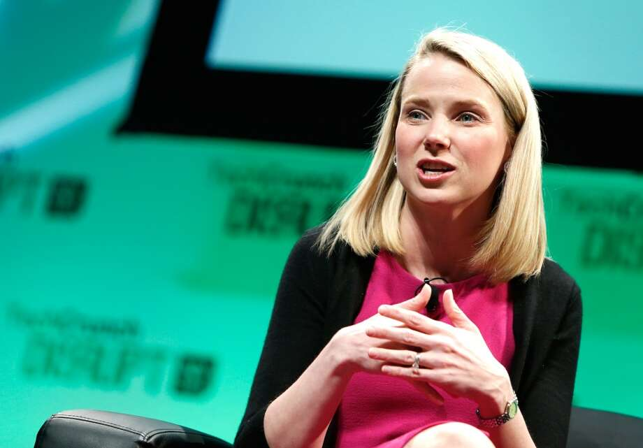 Marissa Mayer, CEO of YahooMayer was employee No. 20 and the first female engineer at Google. She was named chief executive of Yahoo in 2012. Photo: Brian Ach, Getty Images For TechCrunch