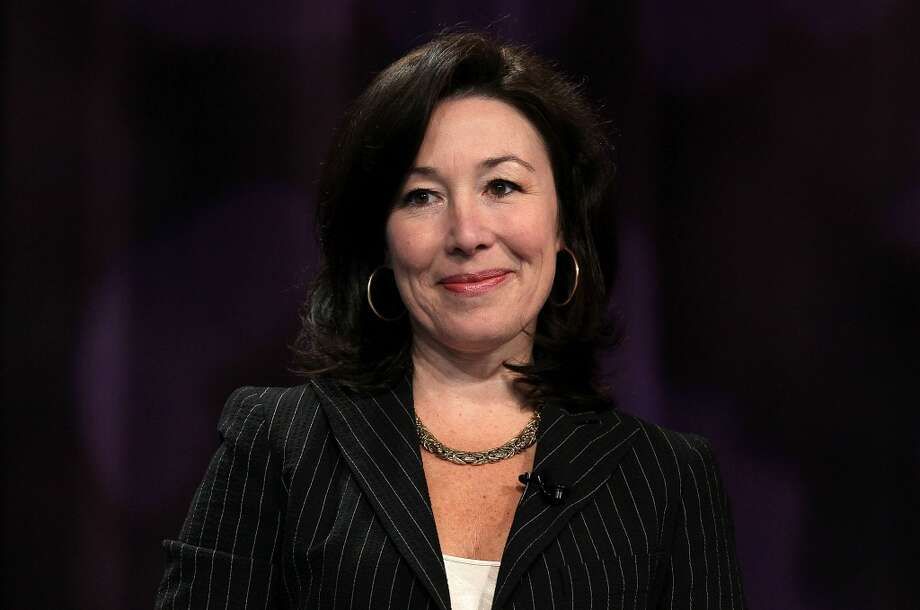 Safra Catz, president and CFO of OracleCatz has been president or Oracle -- a title she shares with Mark Hurd -- since 2004. She was named CFO in 2011. Photo: Justin Sullivan, Getty Images