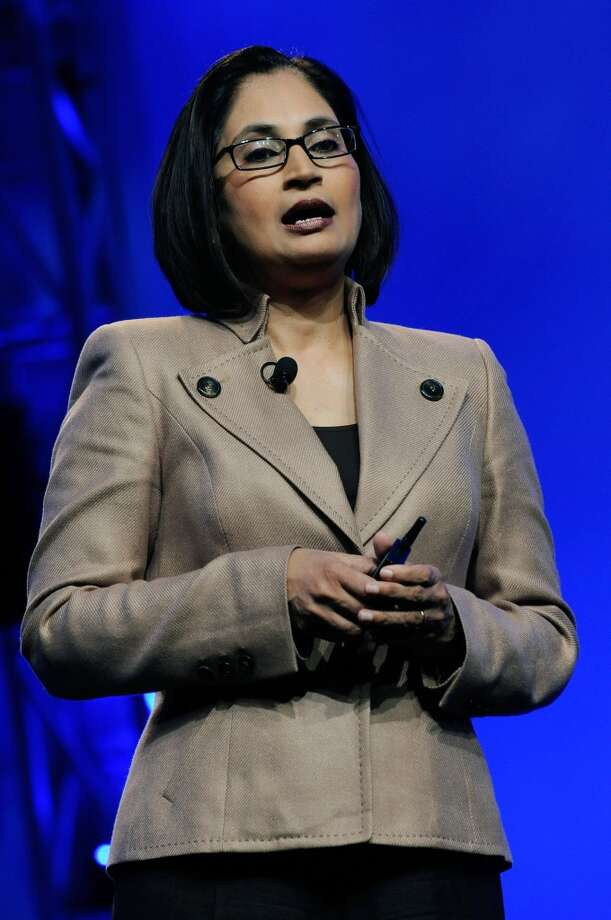 Padmasree Warrior, CTO of CiscoWarrior served as CTO of Motorola before joining Cisco in 2007. She is a board member at Los Altos-based Box. Photo: Ethan Miller, Getty Images