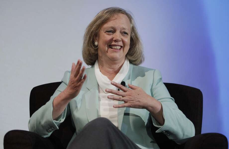 Meg Whitman, president and CEO of Hewlett PackardWhitman served as chief executive of eBay for a decade before taking that role at Hewlett Packard in 2011.  Whitman ran against Jerry Brown in the 2010 gubernatorial election. Photo: Paul Sakuma, Associated Press
