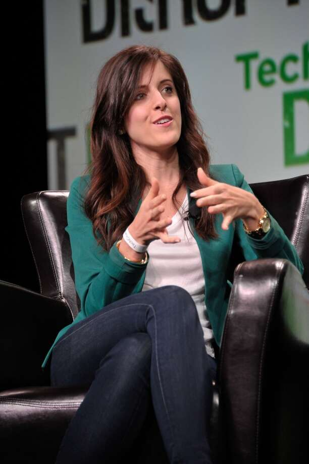 Halle Tecco, co-founder and CEO of Rock HealthRock Health funds and supports digital health startups. Tecco previously worked at Intel and Apple. Photo: Steve Jennings