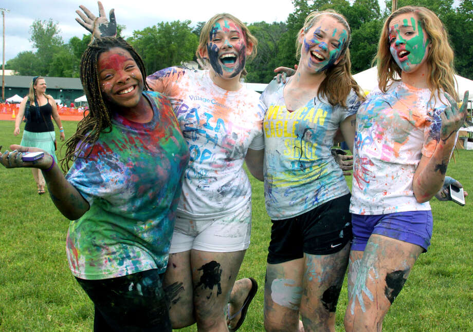 This year's Paint the People festival in New Milford will be held Saturday behind John Pettibone Elementary School Field. Find out more.  Photo: Walter Kidd / The News-Times Freelance
