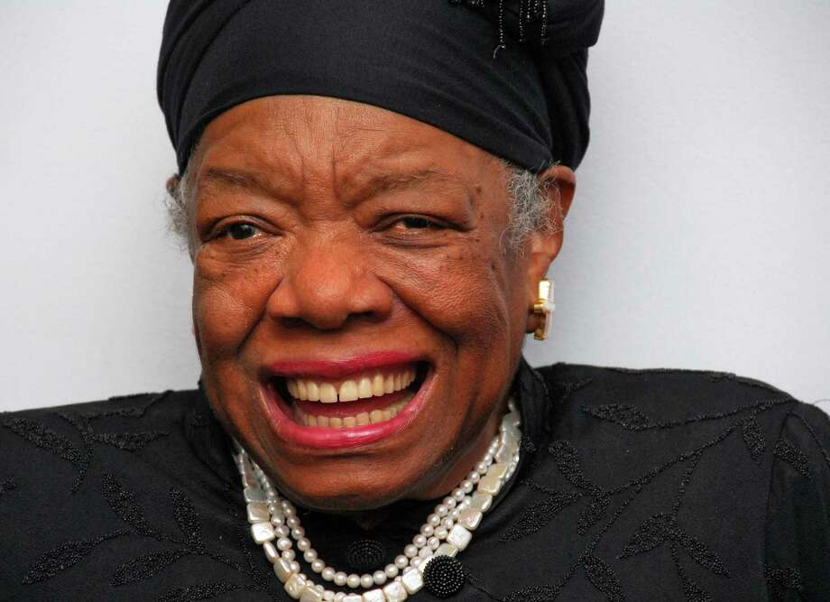 Award-winning poet, civil rights activist and play wright, Maya Angelou backstage prior to speaking to an overflow crowd at Union College's Memorial Chapel Monday evening October 22, 2007. (Times Union staff photo by John Carl D'Annibale) Photo: John Carl D'Annibale / Albany Times Union