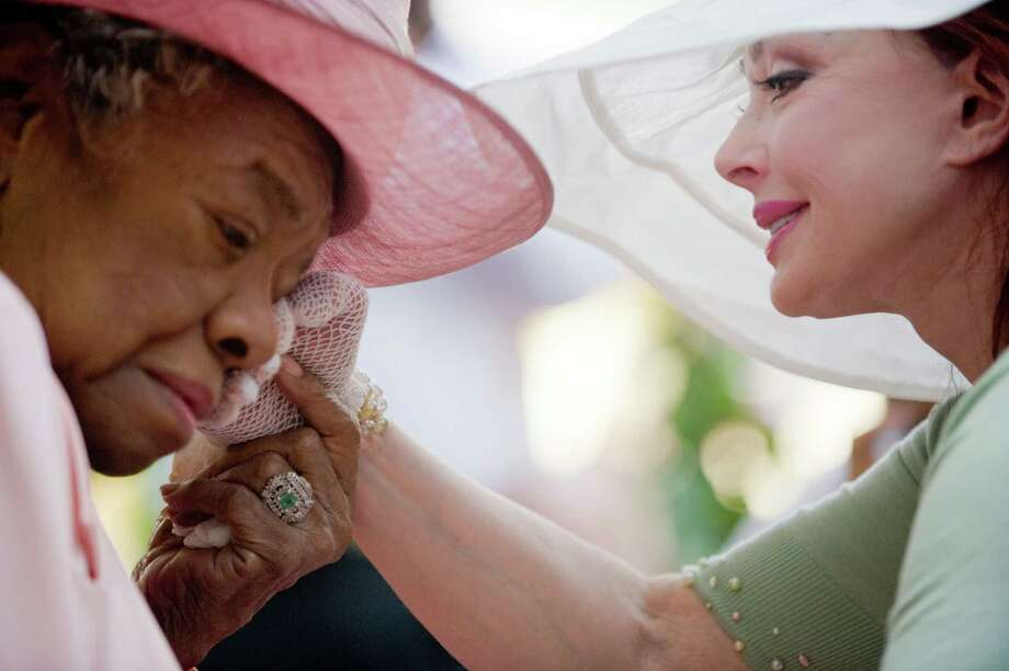 """""""I've learned that people will forget what you said, people will forget what you did, but people will never forget how you made them feel."""" WINSTON-SALEM, NC - MAY 20:  Poet Dr. Maya Angelou and Naomi Judd attend Dr. Maya Angelou's 82nd birthday party with friends and family at Angelou's home on May 20, 2010 in Winston-Salem, North Carolina.  Photo: Steve Exum, Getty Images / 2010 Getty Images"""
