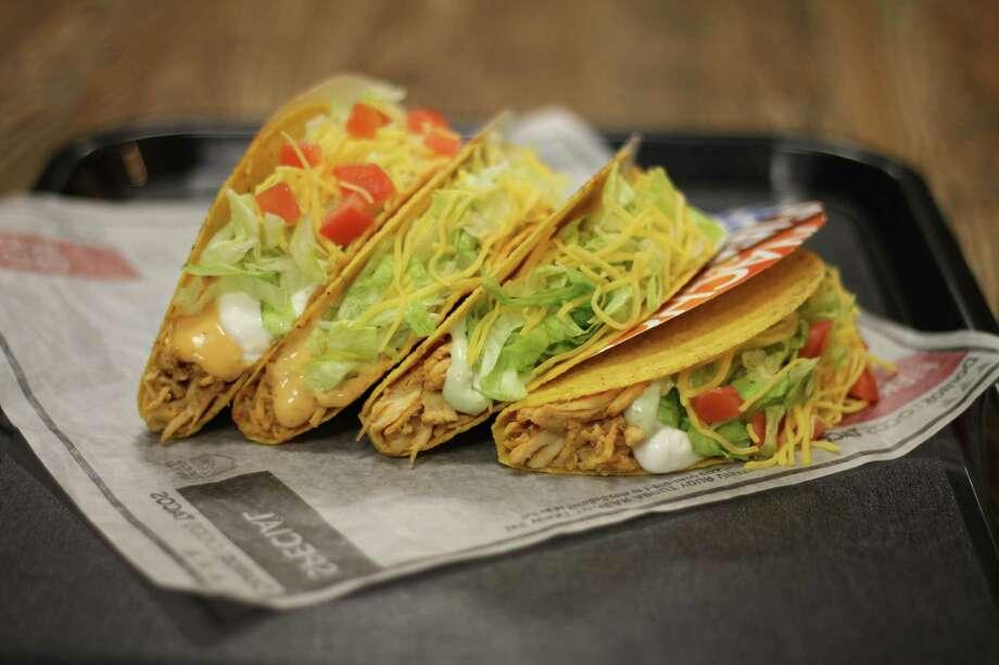 Taco Bell's new Spicy Chicken Cool Ranch Doritos Locos Tacos Supreme