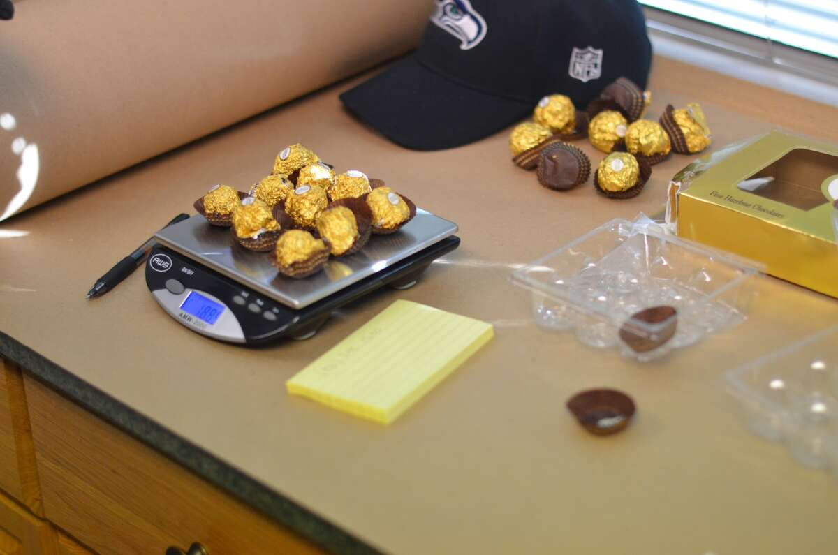 Chocolate The King County Sheriff's Office say drugs were disguised as chocolates, then mailed.
