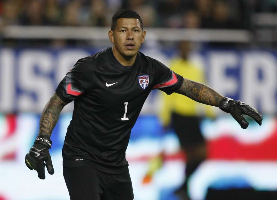 Nick Rimando | Goalkeeper | Birthplace: Montclair, Calif.Age: 34 | First World Cup appearance  | Club team: Real Salt Lake (MLS)The No. 3 keeper is a longtime MLS star, entering the league with the now-defunct Miami Fusion in 2000 after a sparkling college career with UCLA. Rimando has made a name for himself at RSL, where he was selected as an MLS All Star in 2010, 2011 and 2013. Photo: Rick Scuteri, Associated Press PRESS