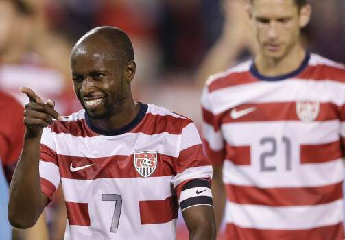 DaMarcus Beasley | Defender | Birthplace: Fort Wayne, Ind. Age: 31 | Fourth World Cup appearance  | Club team: Puebla (Mexico) With Beasley's inclusion in the 2014 squad, he becomes the first American player to be a part of four World Cup teams. Once one of the brightest stars on the U.S. side, he will likely play the role of experienced reserve. Beasley has played professionally in the United States, France, England, Scotland, Germany and now Mexico. Photo: Gregory Bull, Associated Press