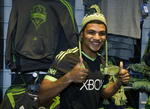 """DeAndre Yedlin   Defender   Birthplace: Seattle, Wash. Age: 20   First World Cup appearance   Club team: Seattle Sounders FC (MLS) One of the surprises of Klinsmann's roster was the inclusion of budding star Yedlin, a Seattle native who became the Sounders' first """"homegrown player"""" in 2013. He has made 42 appearances since joining the Sounders and was named an MLS All-Star in 2013. Photo: Ted S. Warren, Associated Press"""