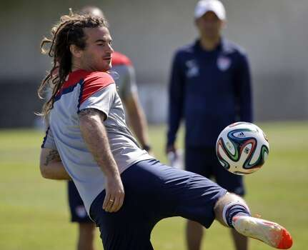 Kyle Beckerman | Midfielder | Birthplace: Crofton, Md. Age: 32 | First World Cup appearance | Club team: Real Salt Lake (MLS) For years one of the most recognizable players in MLS due to his long dreadlocks, Beckerman has served as RSL captain since 2008. A five-time All-Star, Beckerman's once-bleak international fortunes were restored when Klinsmann — who likes Beckerman to play a holding role behind Michael Bradley — took over in 2011. Photo: Marcio Jose Sanchez, Associated Press