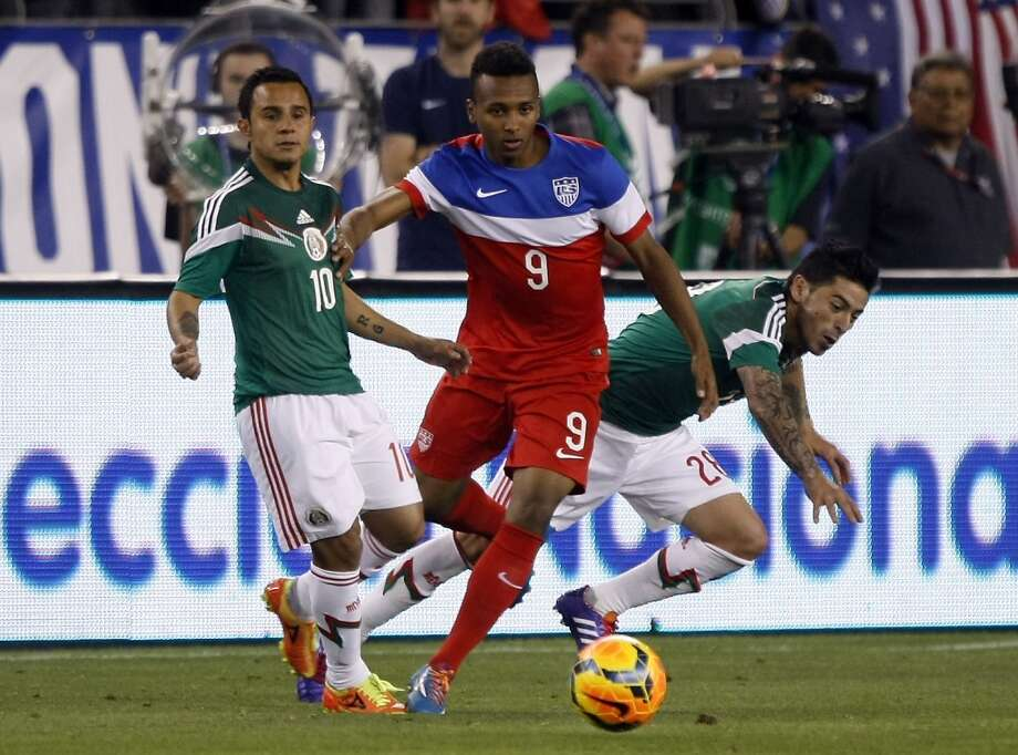 Julian Green | Midfielder | Birthplace: Tampa, Fla.Age: 18 | First World Cup appearance | Club team: Bayern Munich (Germany)Perhaps the most controversial addition to the team was that of Green, one of the most talented — and inexperienced — players on the U.S. roster. The son of an American father and German mother was highly sought-after by both countries, but chose to throw his lot in with the U.S. in March. His addition to this year's team is perhaps a look ahead to future tournaments. Photo: Rick Scuteri, Associated Press