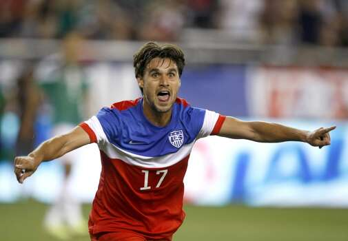 """Chris Wondolowski   Forward   Birthplace: Danville, Calif. Age: 31   First World Cup appearance   Club team: San Jose Earthquakes (MLS) If you're looking for one player who pushed Landon Donovan off the 2014 team, it's probably """"Wondo."""" But given his form, it's not hard to see why. After a slow start to his professional career, Wondolowski broke through with 18 goals in 2010 before scoring an MLS record-tying 27 in 2012. Even better, he has scored nine times for the U.S. since July 2013. Photo: Rick Scuteri, Associated Press"""