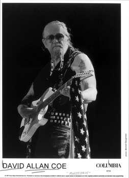 "David Allan Coe -- ""Longhaired Redneck"" Photo: MITCHELL BAUGHMAN, SONY _1997"