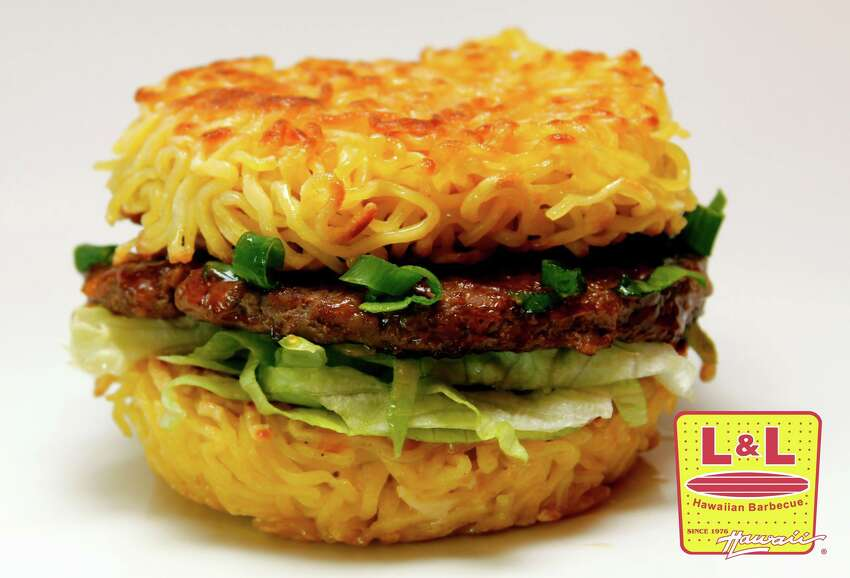 25. HAWAII / L&L Hawaiian BBQ  You don't have to hop a plane to indulge in Hawaii's gift to fast food: the ramen burger. Military City USA flipped out last year when the franchise opened its first stateside location on Austin Highway.