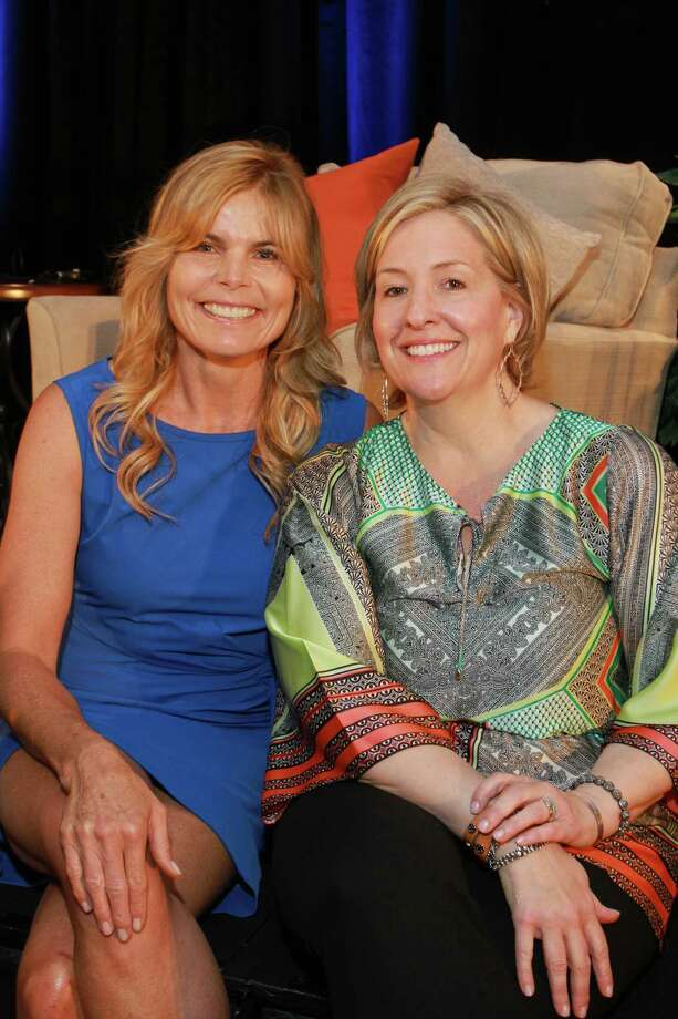 Mariel Hemingway, left, and Brene Brown Photo: Gary Fountain, Freelance / Copyright 2014 by Gary Fountain