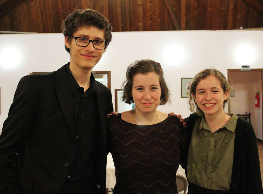 The Shapiro siblings--  from left, Daniel, Rachael and Ellie --- will peform June 14 in a classical music concert to benefit an animal shelter and education center being planned in memory of a six-year-old victim of the Newtown school shootings. Westport CT. May 2014. Photo: Westport News/Contributed Photo / Westport News