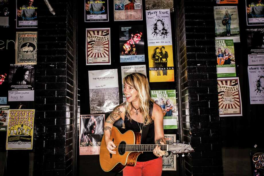 Musician Patrice Pike, May 22, 2014 in Houston at The Mucky Duck.  (Eric Kayne/For the Chronicle) Photo: Eric Kayne / Eric Kayne