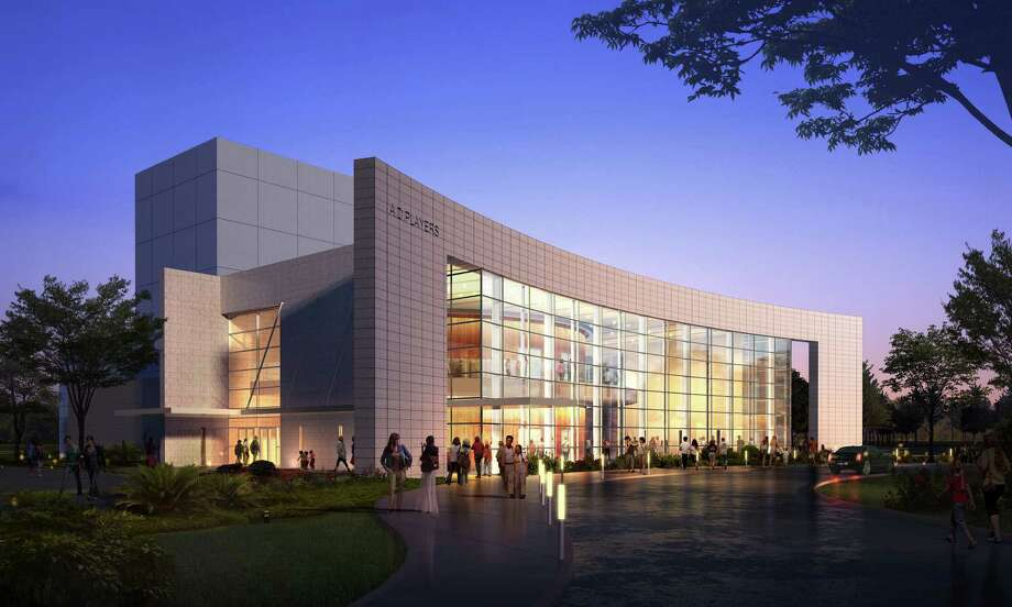 A.D. Players' new theater, designed by Gabriel Architects of Houston, will be on Westheimer, at Yorktown, a few blocks west of the Galleria.  A.D. Players' new theater, designed by Gabriel Architects of Houston, will be on Westheimer, at Yorktown, a few blocks west of the Galleria. Photo: Courtesy Photo