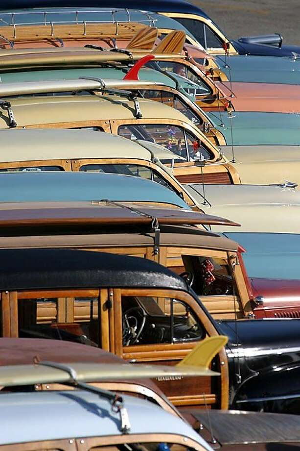 20th Annual Woodies on the Wharf. Photo: Bob Barbour