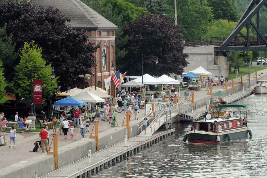 Waterford Harbor Farmers Market, June-October, 9 a.m - 1 p.m., Sundays, 1 Tugboat Alley Waterford, NY. Visit Web site. Photo: PAUL BUCKOWSKI, ALBANY TIMES UNION / 00009554A