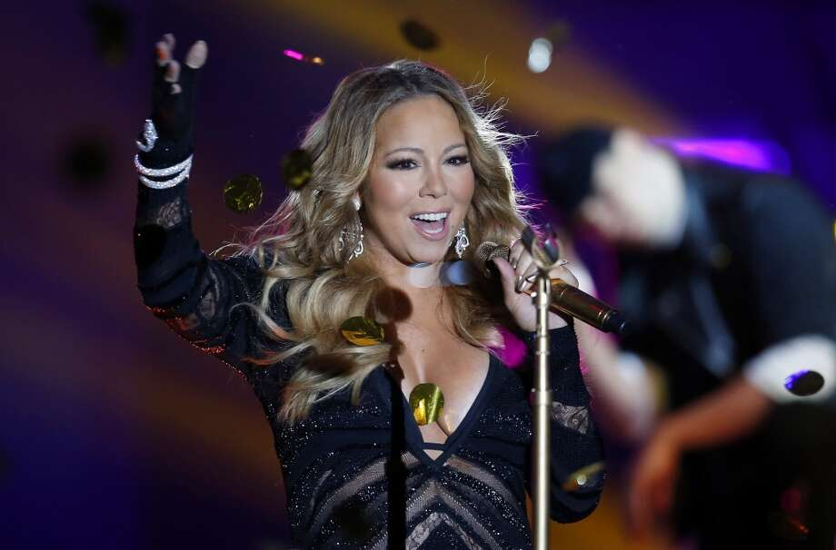Mariah Carey performs during the World Music Awards at Monte Carlo Sporting Club, on May 27, 2014 in Monaco.  The awards are presented to the world's best-selling artists in various categories and to the best-selling artists from each major territory. Photo: VALERY HACHE, AFP/Getty Images