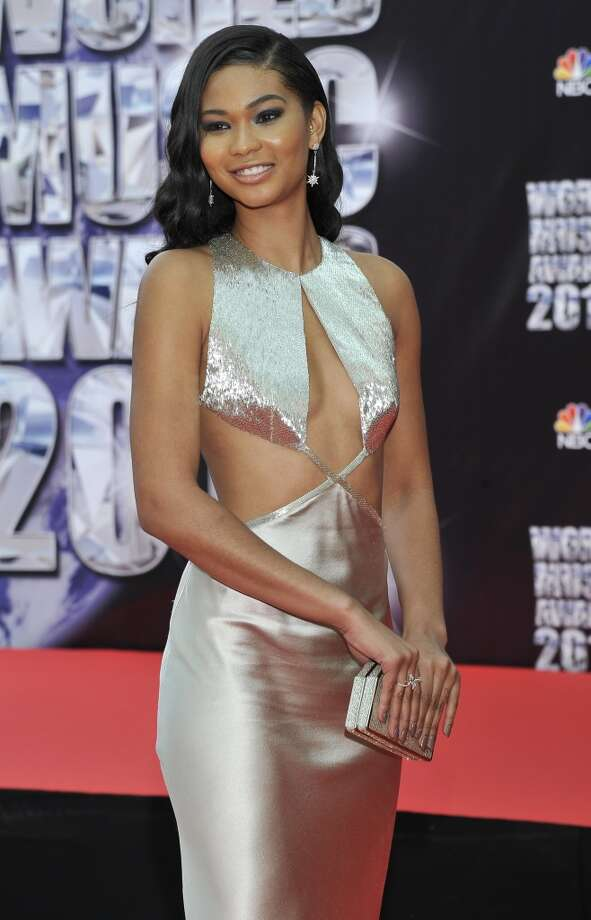 American model Chanel Iman poses as she arrives for the World Music Awards in Monaco, Tuesday, May 27, 2014. Photo: Bruno Bebert, Associated Press