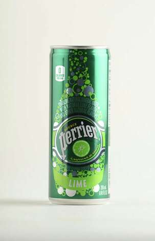 Perrier, lime flavored sparking water, Friday afternoon, May 23, 2014, in Colonie, N.Y. (Will Waldron/Times Union) Photo: WW / 00026984A