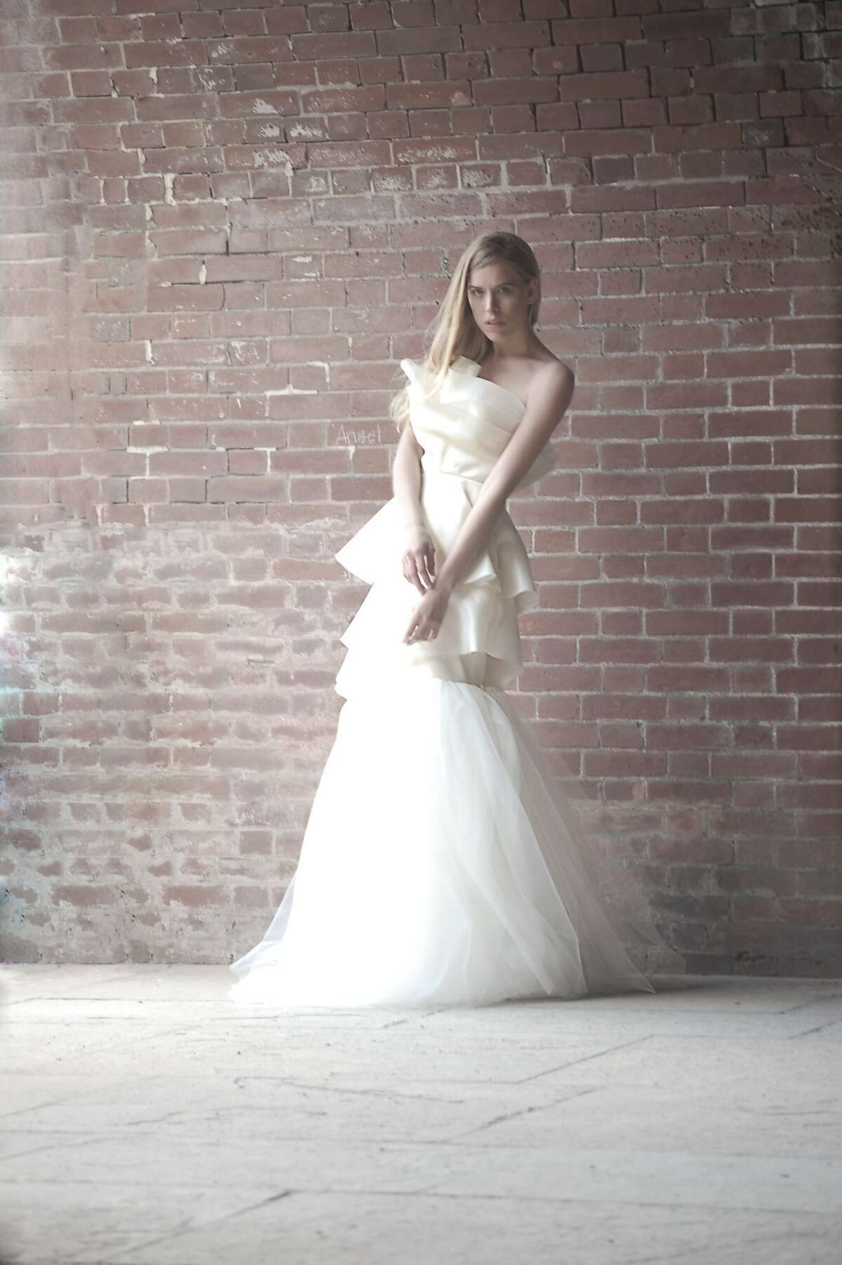 Designer Alyssa Casares' spring Alyssa Nicole collection of wedding dresses range from $1,500 to $3,500, with a lead time of four months, and ready-to-wear pieces $100 to $400, with a one to two week lead time.
