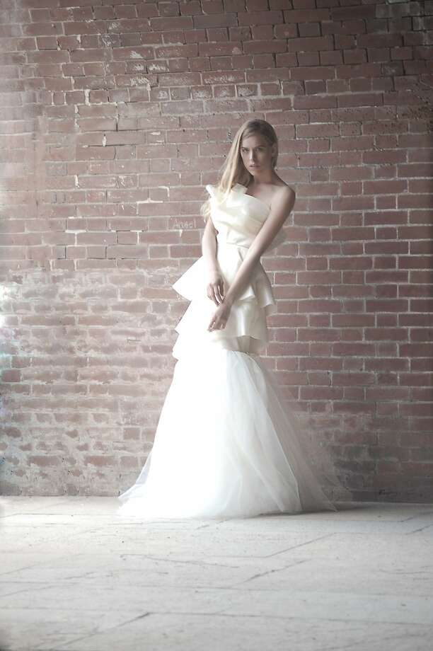 Designer Alyssa Casares' spring Alyssa Nicole collection of wedding dresses range from $1,500 to $3,500, with a lead time of four months, and ready-to-wear pieces $100 to $400, with a one to two week lead time. Photo: Jess Sorensen
