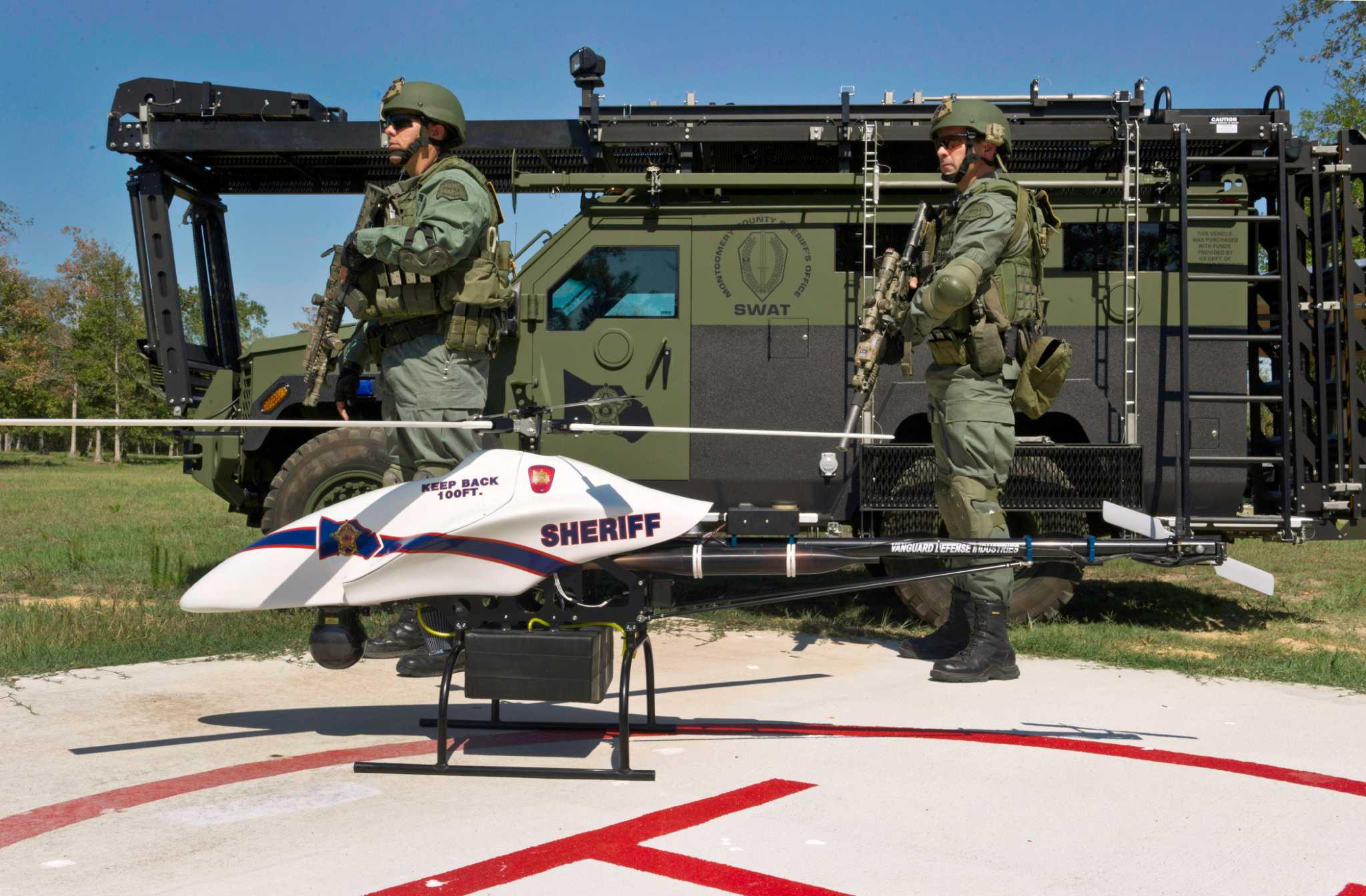 Montgomery County plans to replace sheriff's drone that