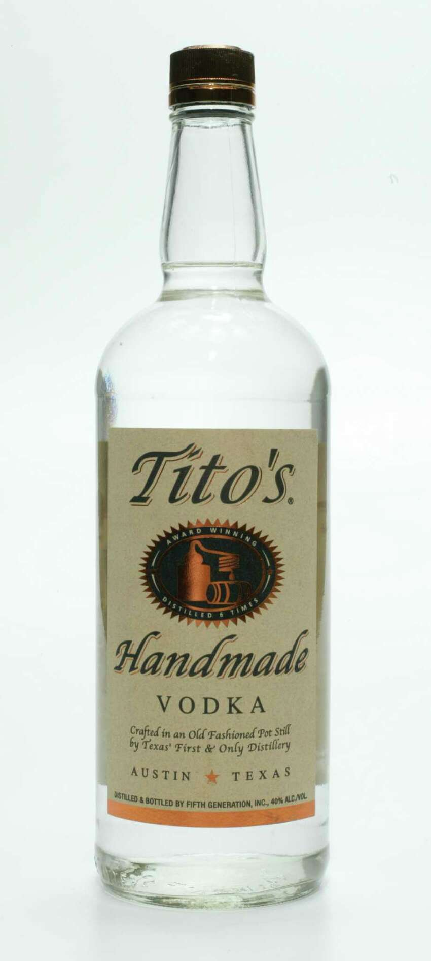 Tito's - Austin  Millennials don't have to steal from their parents liquor cabinets anymore.