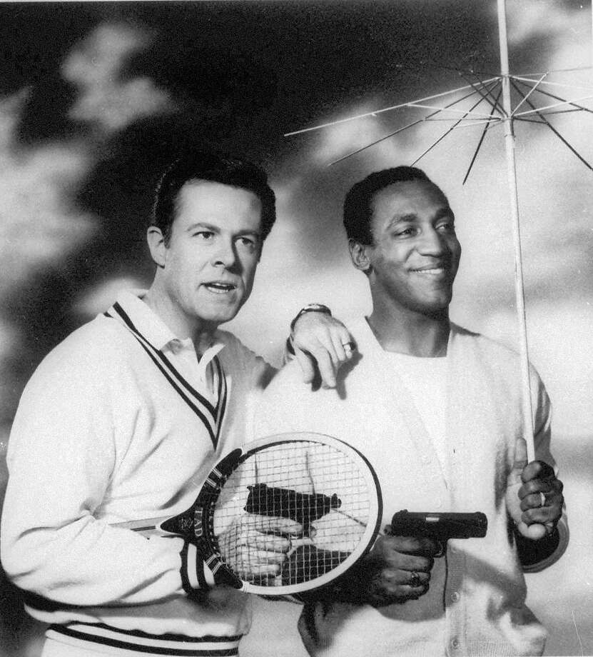 "FILE - This undated file photo originally released by NBC shows Robert Culp, left, and Bill Cosby starring as a team of American agents in the 1960's television series, ""I Spy."" Culp, the versatile actor who teamed with Cosby in the groundbreaking comedy-adventure TV series and was Bob in the critically acclaimed sex comedy ""Bob & Carol & Ted & Alice,""  died Wednesday, March 24, 2010. He was 79. Photo: AP"