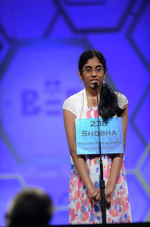 Two Houston-area national spelling bee contestants have moved on to the next round of contention at the 87th Scripps National Spelling Bee in Washington D.C. The students, Syamantak Payra and Shobha Dasari, both 13, correctly spelled the words that each were given this morning in the preliminary round. This is their second trip to the national competition together, competing in 2013 also. (Mark Bowen/Scripps National Spelling Bee)