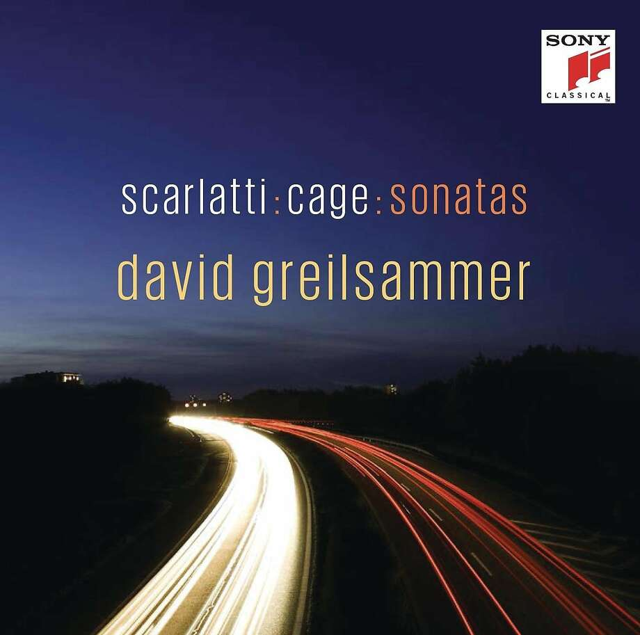 cd cover:  Scarlatti and Cage Piano Sonatas by David Greilsammer Photo: Sony Classical