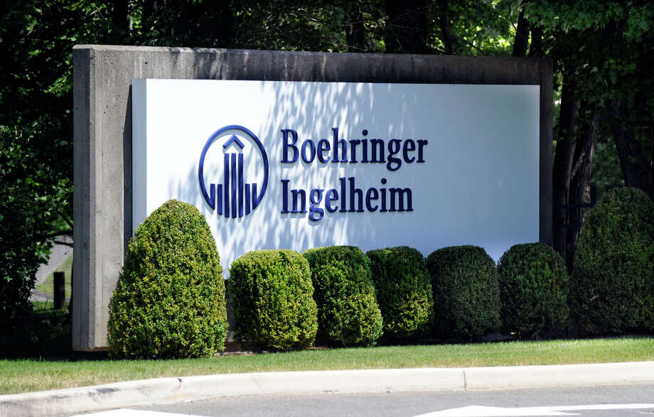 Boehringer Ingelheim is located off of Old Ridgebury Road in Danbury, Ct. Photo: Carol Kaliff / The News-Times