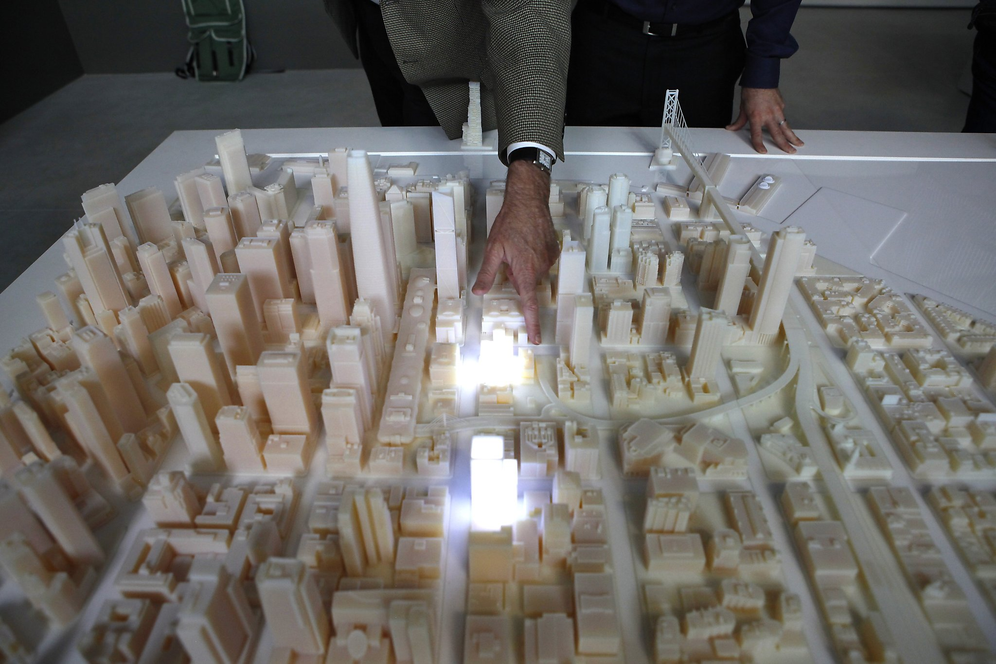 s f skyline of future rises today from 3 d printer sfgates f skyline of future rises today from 3 d printer
