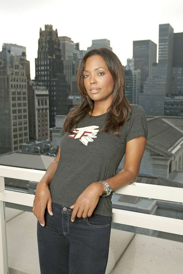 "Aisha Tyler, a co-host on CBS' ""The Talk,"" will perform her stand-up act Friday and Saturday at Cobb's Comedy Club in S.F. Photo: Robert Adam Mayer"
