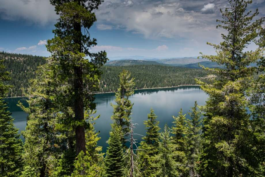 The South Ridge Trail leads to an overlook of the lake Photo: Simon Williams/The Nature Conservancy