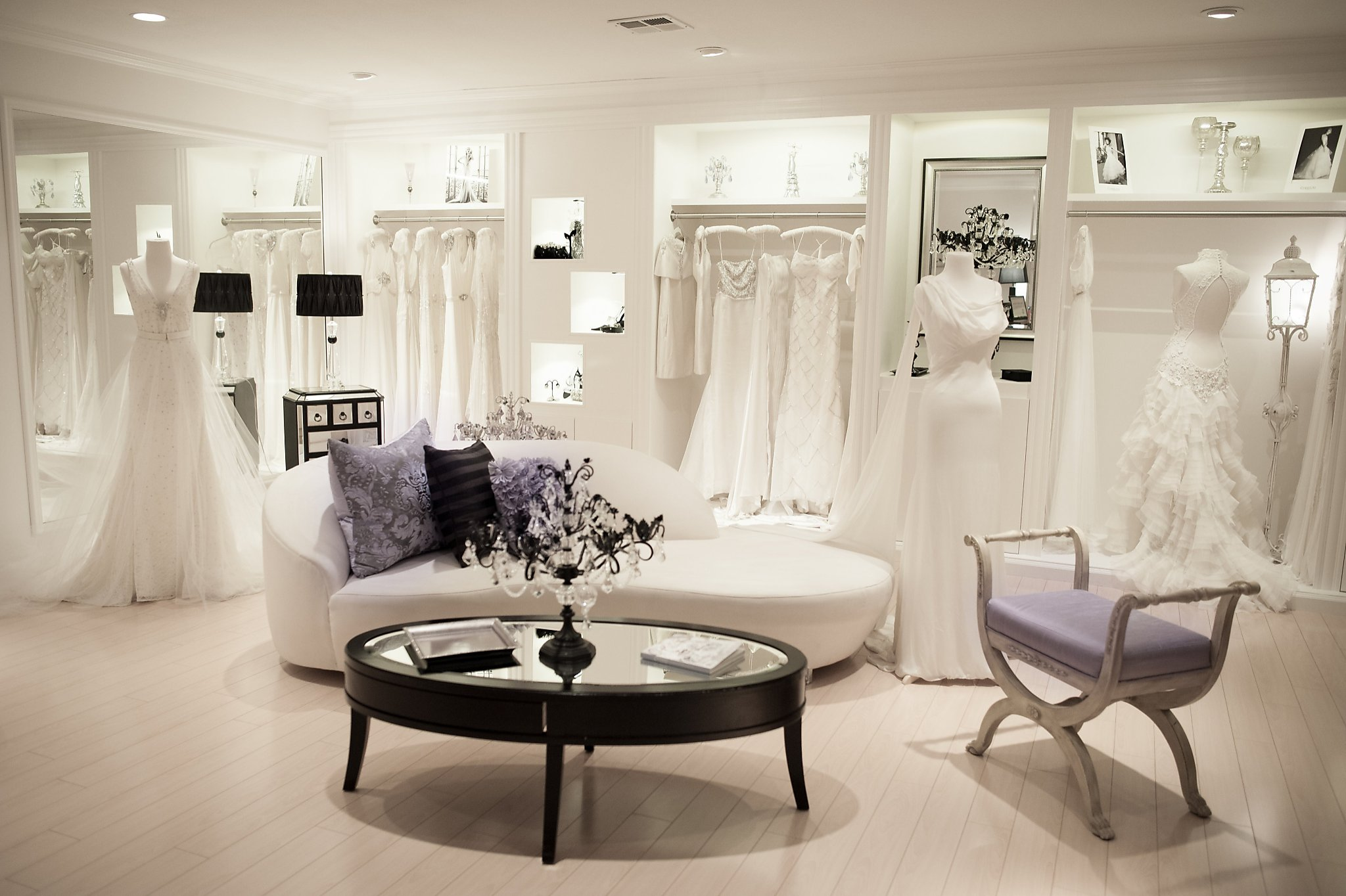 5 Bay Area Bridal Salons That Make Shopping Special Sfgate